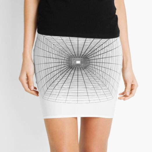 #Perspective #Drawing #Tunnel Mini Skirt