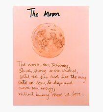 The Moon Lámina fotográfica