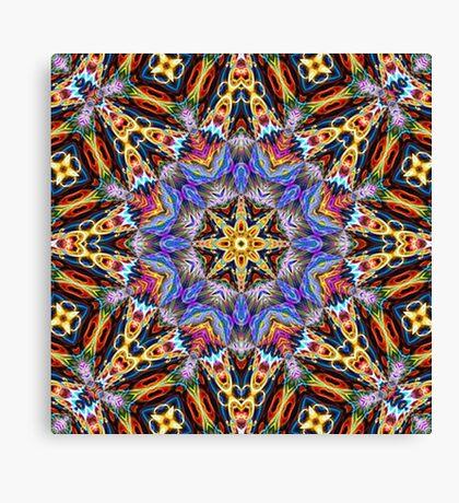 Kaleidoscope Challenge Canvas Print