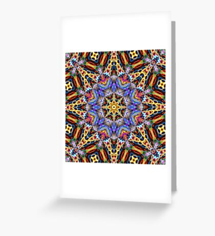 Kaleidoscope Challenge Greeting Card