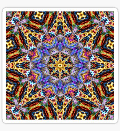 Kaleidoscope Challenge Sticker