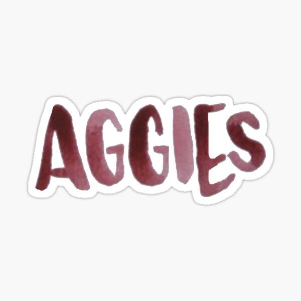 aggies Sticker
