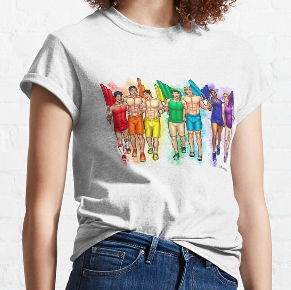 Troy: Happy Pride Classic T-Shirt