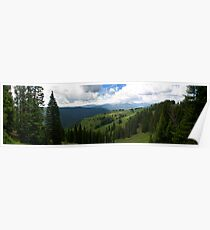 Mountains in Vail Poster