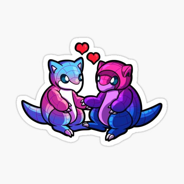 Trans/Bi Sandshrew Love Sticker