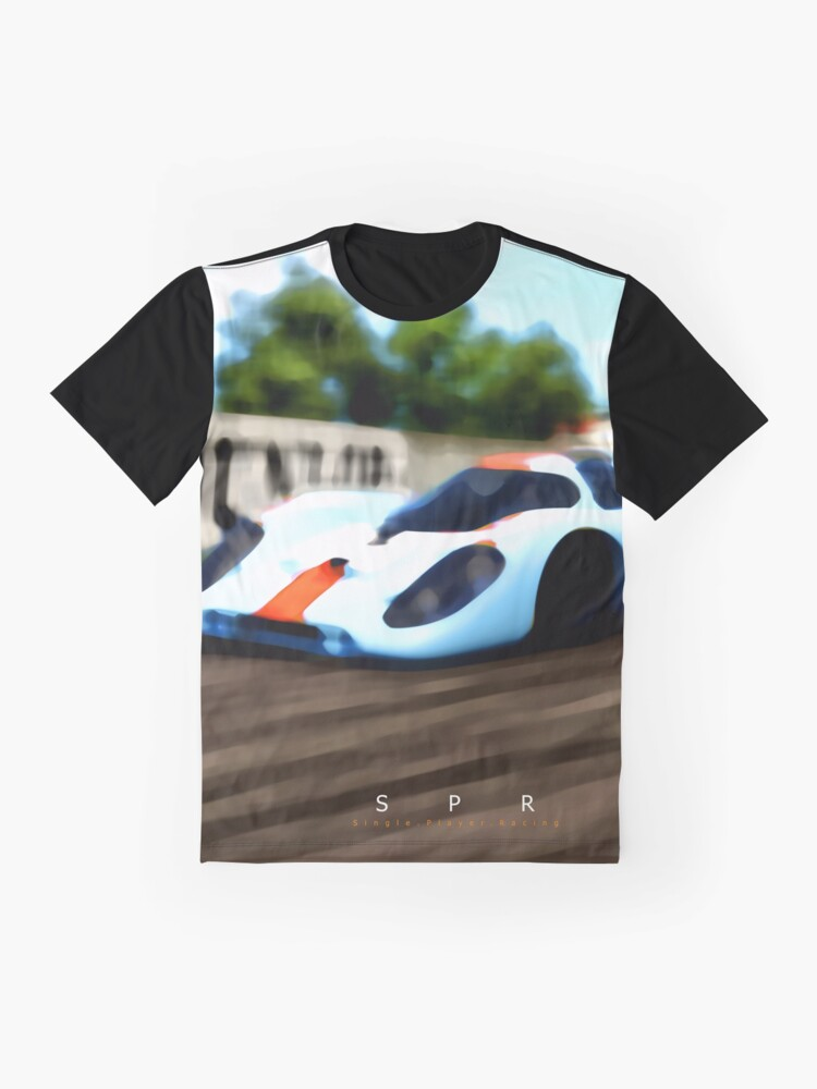 Alternate view of Porsche 917K 1970 Design Graphic T-Shirt