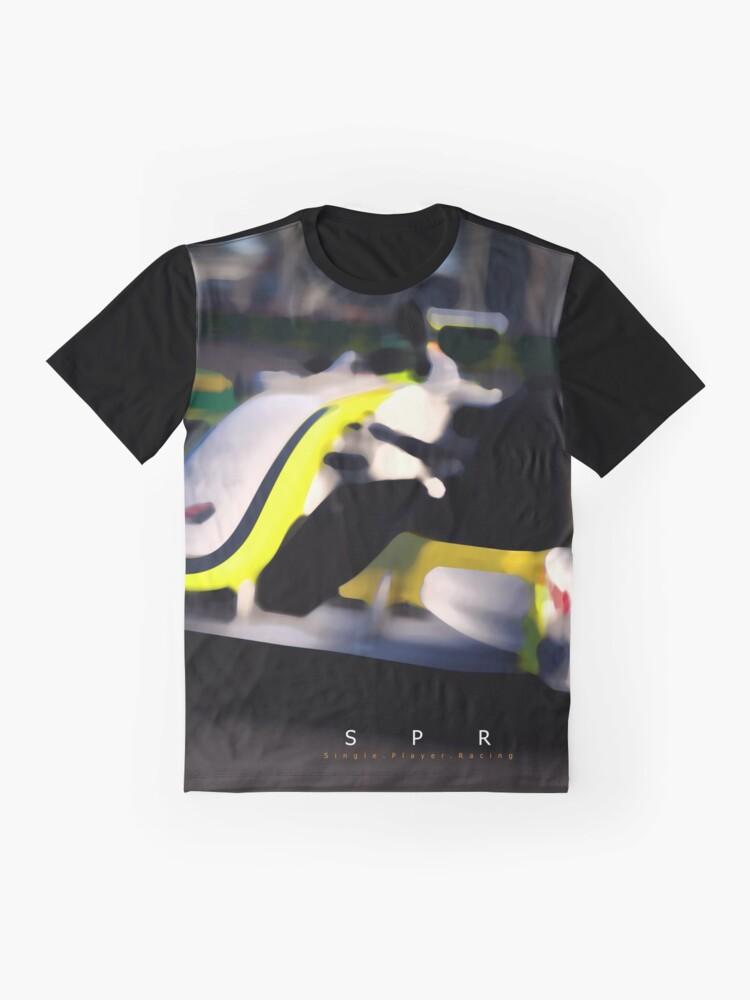 Alternate view of Brawn GP 2009 Design Graphic T-Shirt