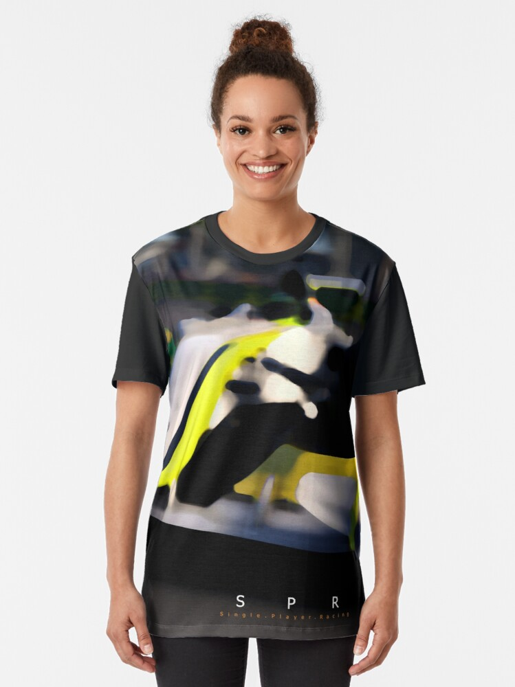 Alternate view of Brawn GP 2009 Design Graphic T-Shirt