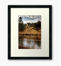 Late Afternoon, Neidpath Castle Framed Print