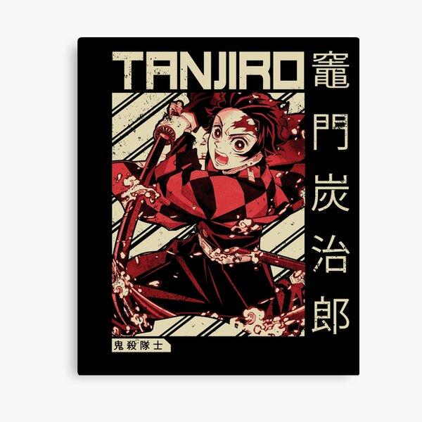 Demon Slayer Kimetsu No Yaiba | Anime Shirt Canvas Print