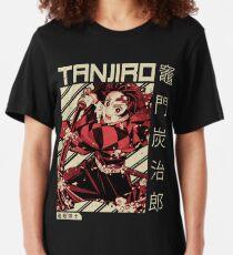 Dämonentöter Kimetsu No Yaiba   Anime Shirt Slim Fit T-Shirt