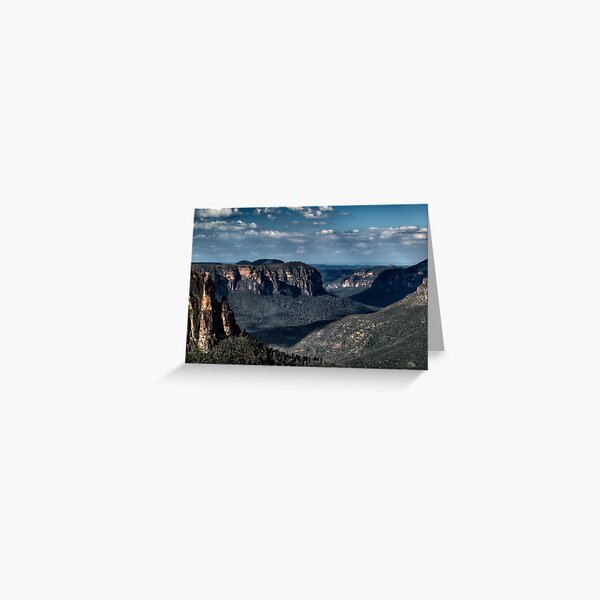 Grose Valley | Blue Mountains Australia Greeting Card