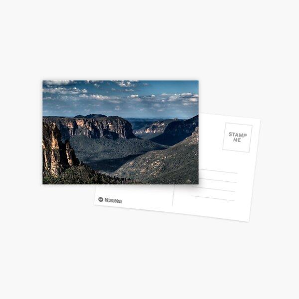 Grose Valley | Blue Mountains Australia Postcard