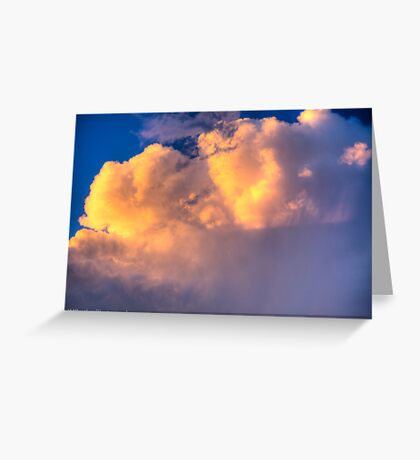 Beautiful Stormy Sky Greeting Card