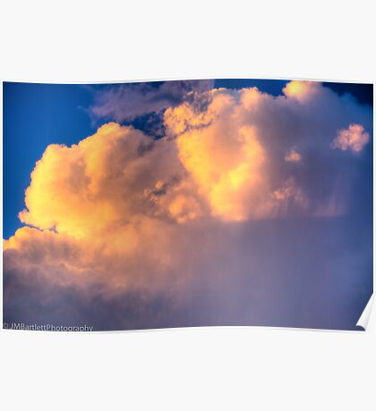 Beautiful Stormy Sky Poster