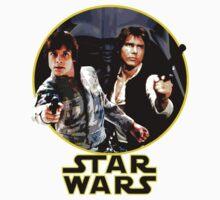 Star Wars- Luke and Han Solo