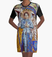 Saint Jehanne von Stuart Littlejohn T-Shirt Kleid