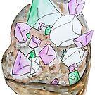 Genderqueer Pride Crystal von Kendra Kantor
