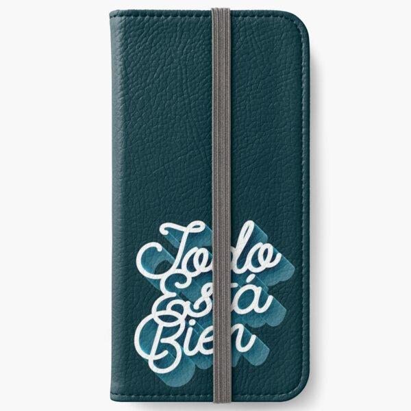 Todo Esta Bien (Faded Blue) iPhone Wallet