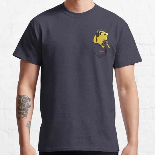 Jake Adventure Time listen music Classic T-Shirt