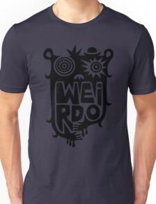 Big weirdo - on light colors Unisex T-Shirt