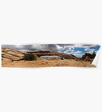 An Arch at Canyonland Poster