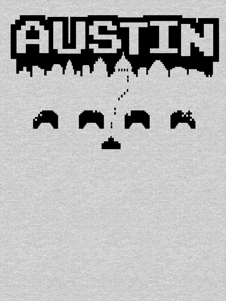 8 Bits of Austin by LemonIceDesigns
