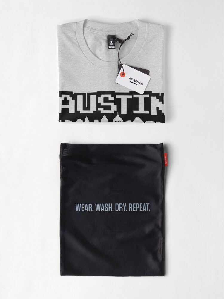 Alternate view of 8 Bits of Austin Premium T-Shirt