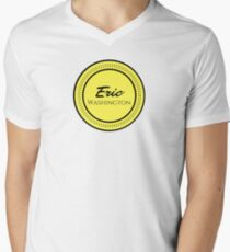 The Large Logo V-Neck T-Shirt