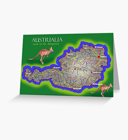 Austrialia Greeting Card