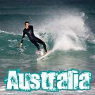 Surfing Australia by reflector