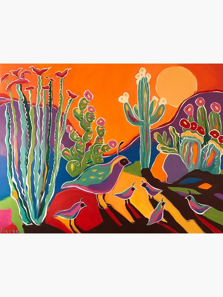 Ocotillo Sunset by kristinharvey