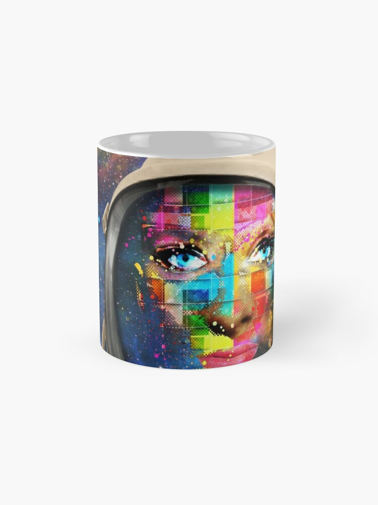 Alternate view of 'THE FACE OF THE UNIVERSE' Mugs