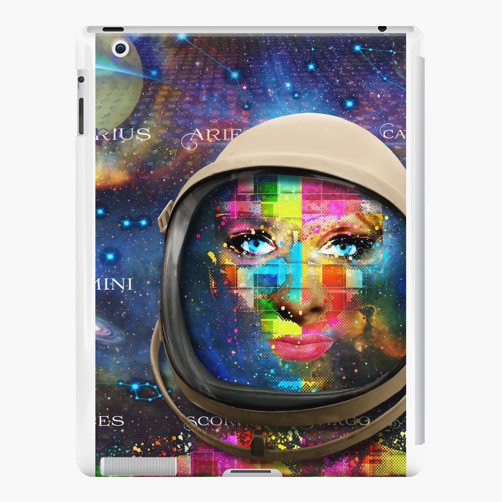 'THE FACE OF THE UNIVERSE' iPad Cases & Skins