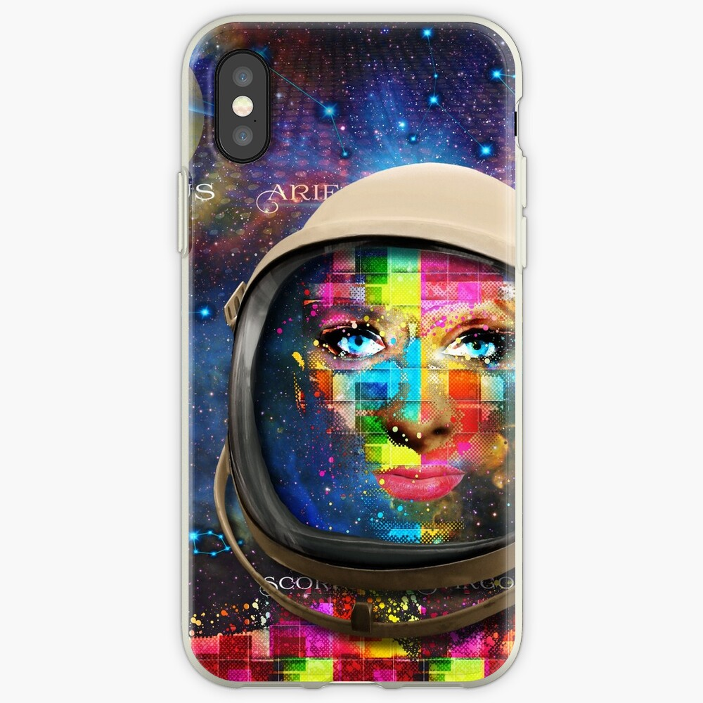 'THE FACE OF THE UNIVERSE' iPhone Cases & Covers