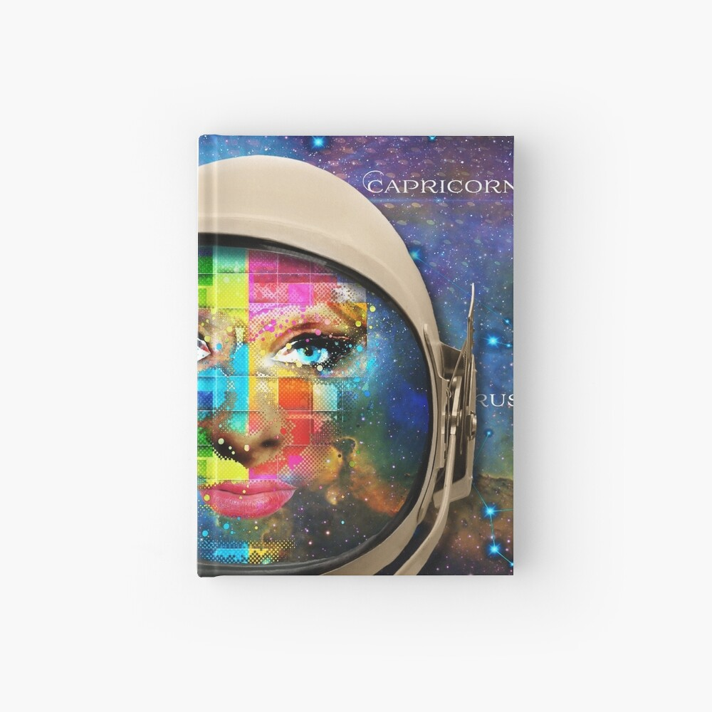 'THE FACE OF THE UNIVERSE' Hardcover Journal