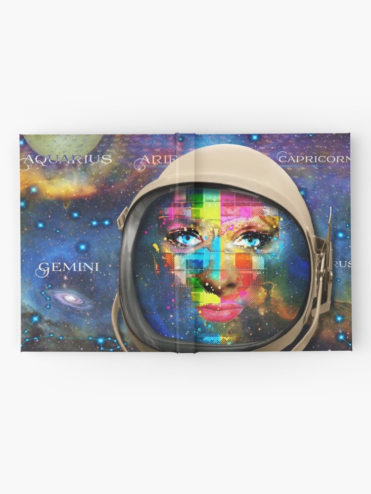 Alternate view of 'THE FACE OF THE UNIVERSE' Hardcover Journal