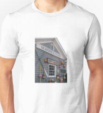Boothbay Harbor Fishing Building Unisex T-Shirt