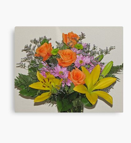 Beautiful Bouquet of Blooms Canvas Print