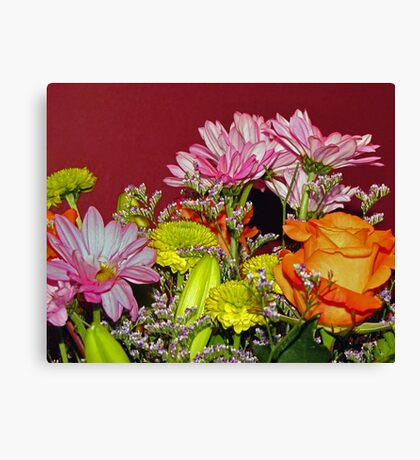The Many Blooms Canvas Print