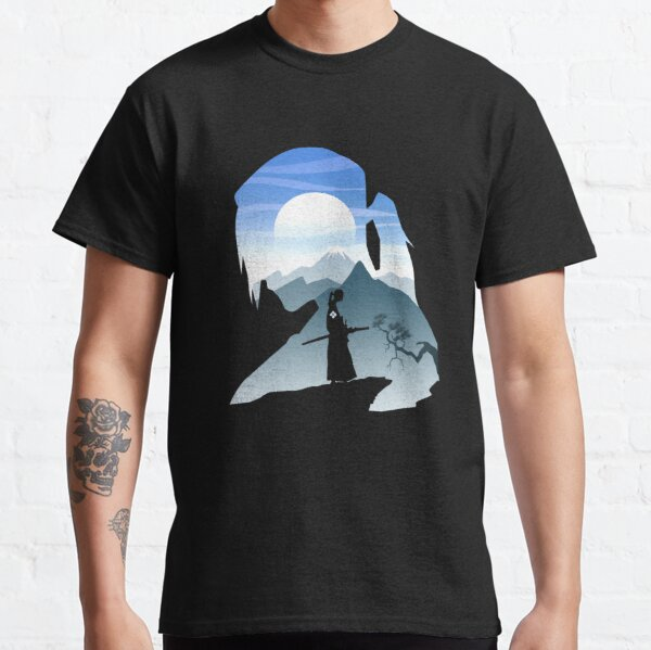 Ciel et samouraï T-shirt classique