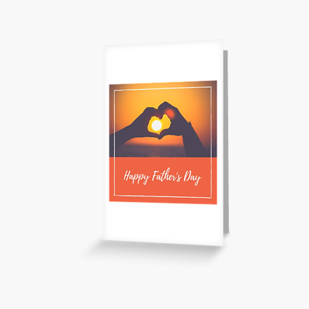 Father's Day Graphic Greeting Card