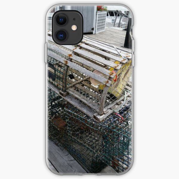 """Boothbay Harbor """"Trapped"""" iPhone Soft Case"""