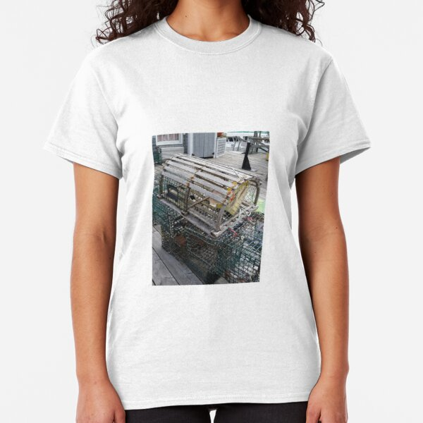 """Boothbay Harbor """"Trapped"""" Classic T-Shirt"""