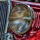 Vintage Red by Deri Dority
