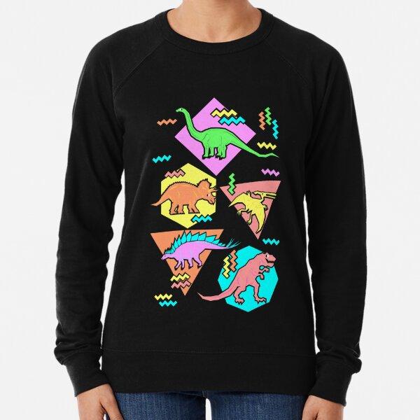 Modèle des dinosaures des années 90 Sweatshirt léger