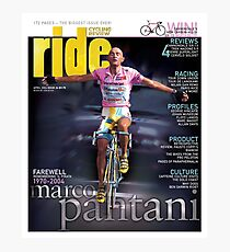 RIDE Cycling Review Issue 24 - Marco Pantani Photographic Print