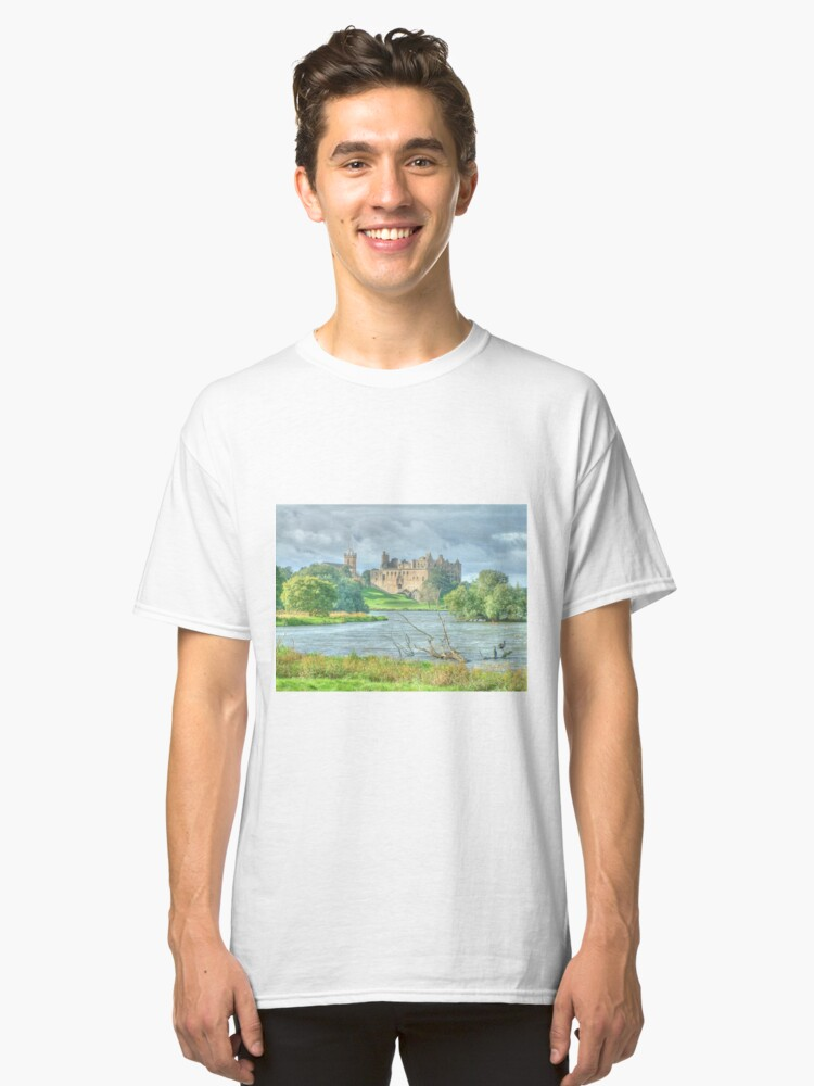 Linlithgow Palace HDR ( Wentworth Prison in Outlander TV series )  Classic T-Shirt Front