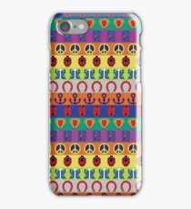 Jojo's Bizarre Adventure - Part Symbols Colorful Pattern iPhone Case/Skin