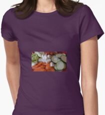 Vegetables Womens Fitted T-Shirt